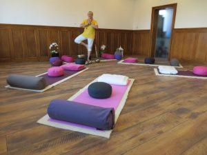 Anette Jäger, Yoga-Studio
