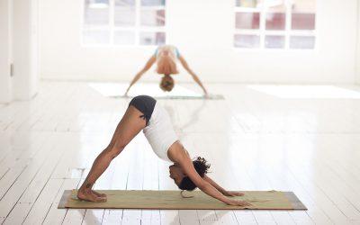 Yoga Anfänger und Prävention