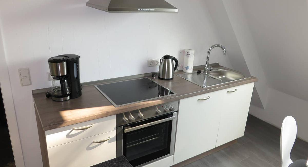 Ferienwohnung, Küche